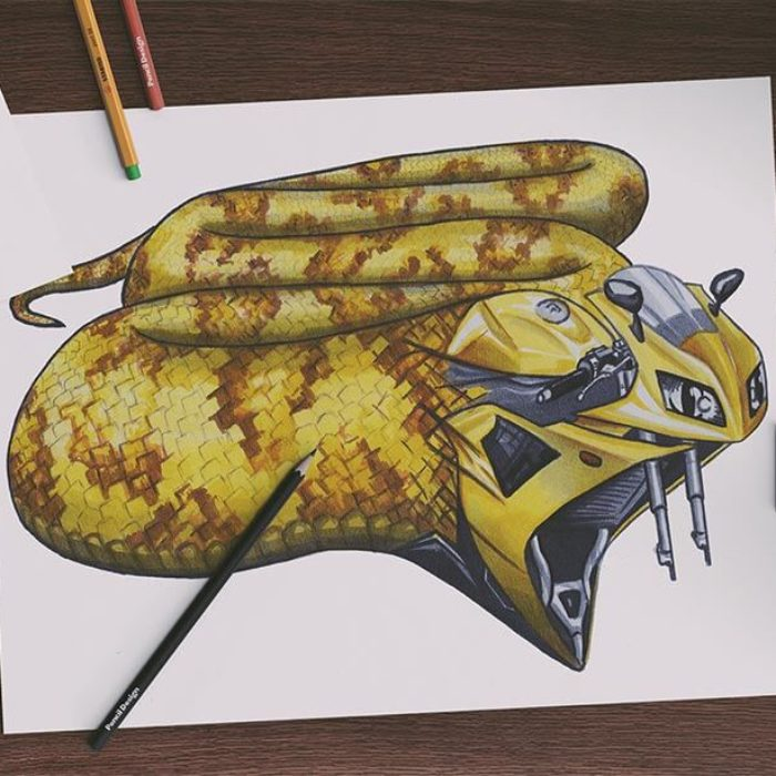 Copic Marker Artwork